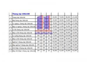 Thang cáp 100x100