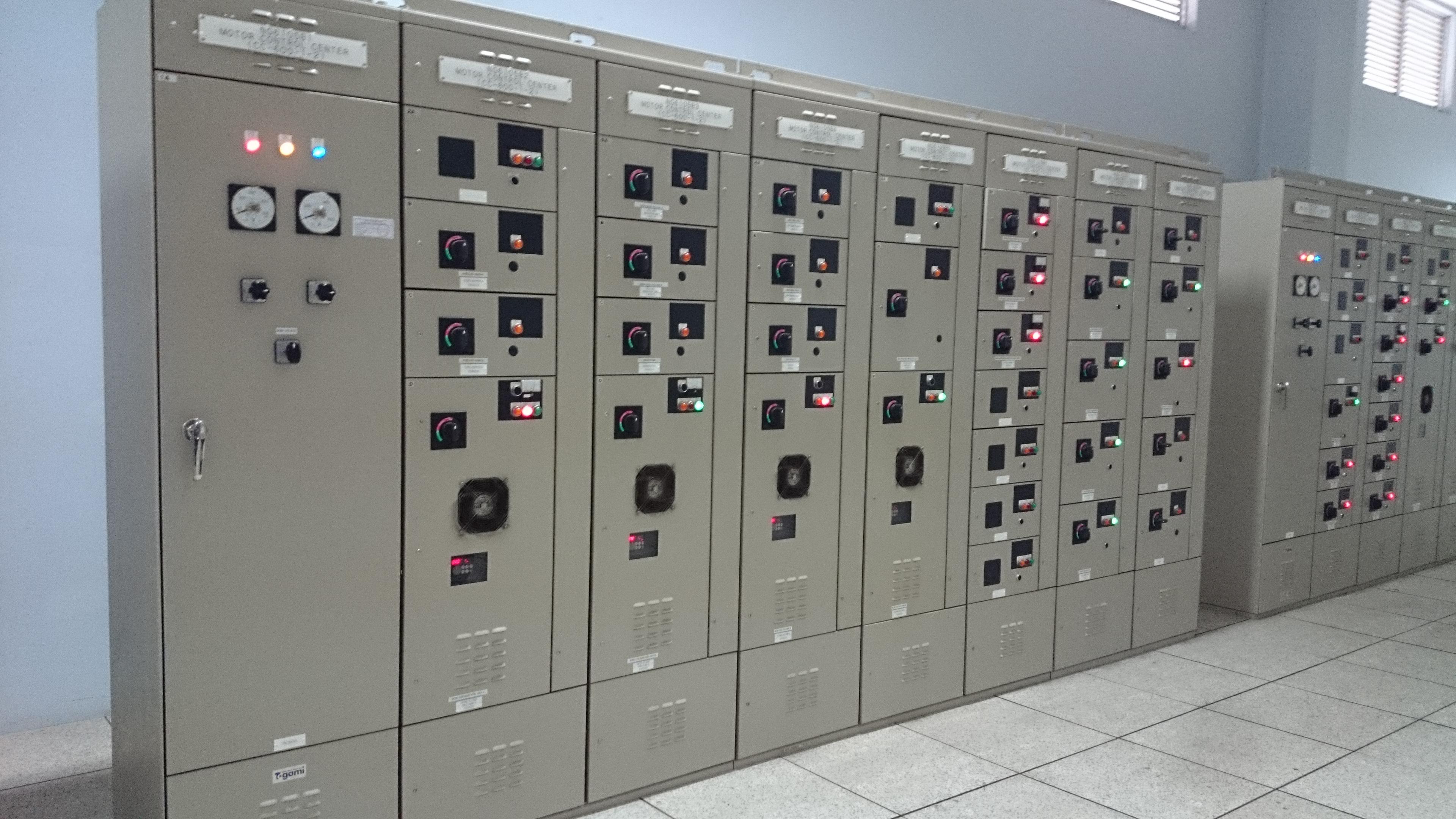Kết quả hình ảnh cho Tủ điện điều khiển trung tâm