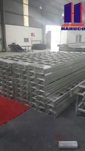 Quy trình sản xuất thang cáp
