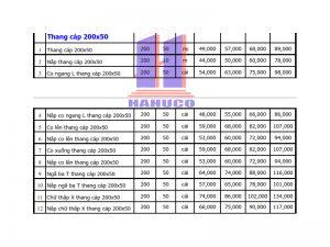 Thang cáp 200x50