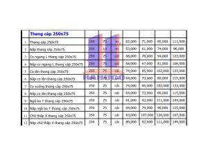 Thang cáp 250x75