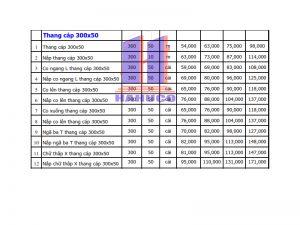 Thang cáp 300x50
