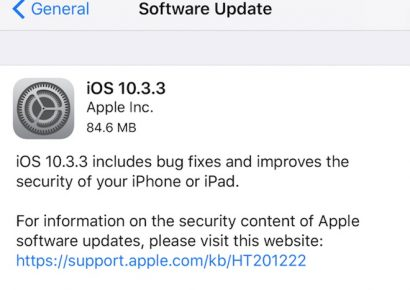 apple khóa ios 10.3.3