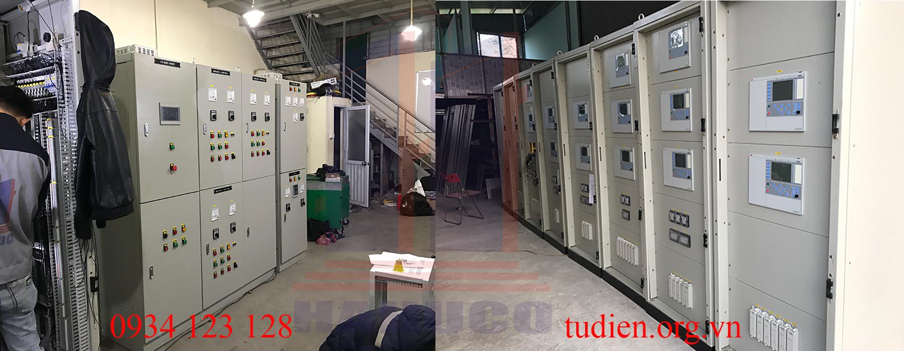 Tủ điện 2 lớp cánh chất lượng cao