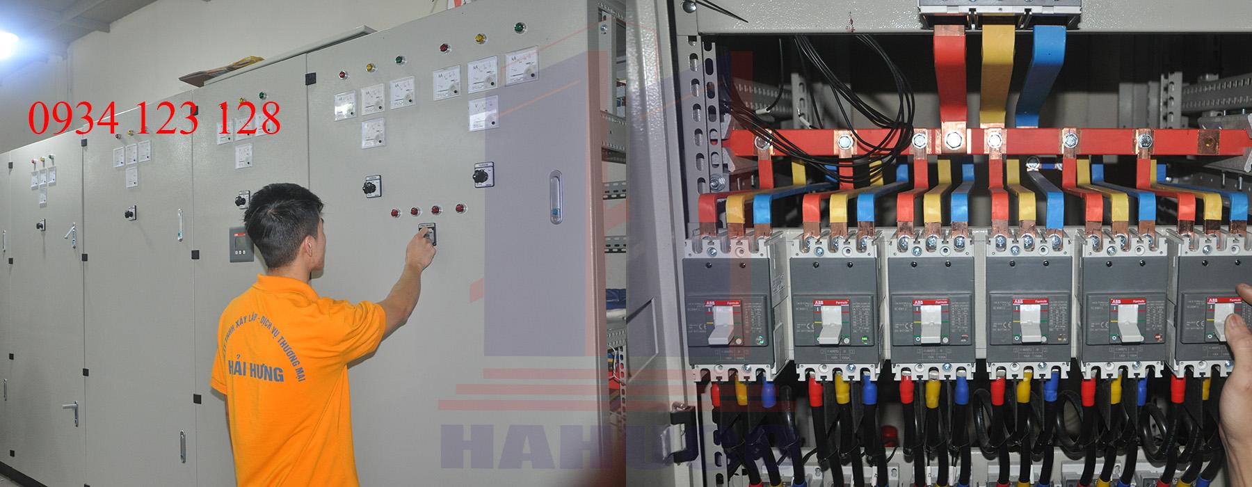 Tủ điện trong nhà