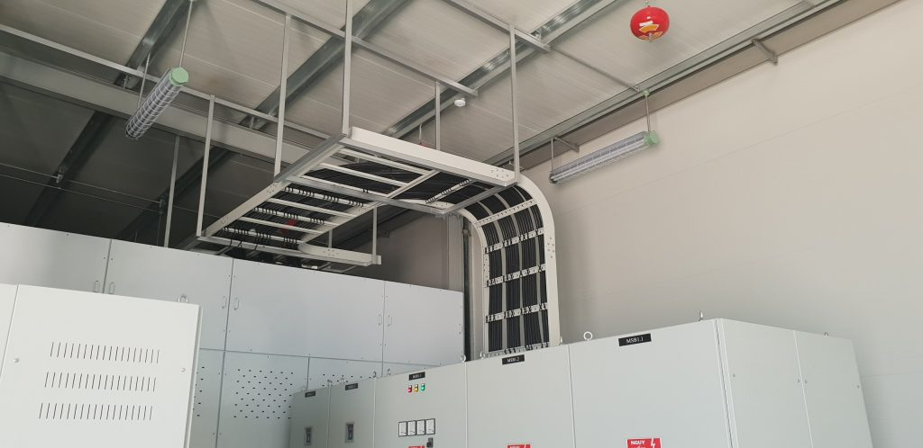 Thang cáp điện cho công trình dân dụng và công nghiệp