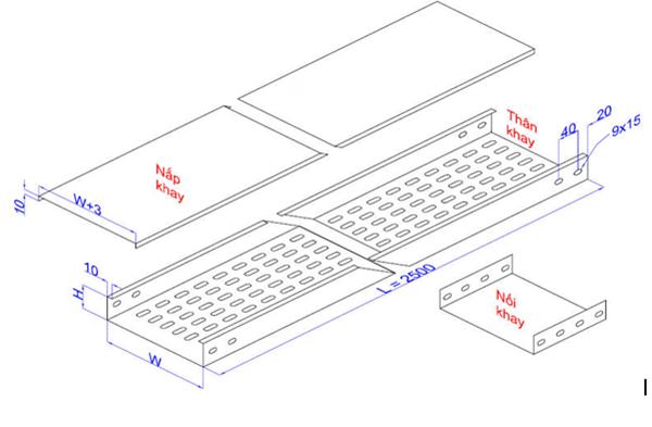 Tìm hiểu tác dụng của bản vẽ thang máng cáp
